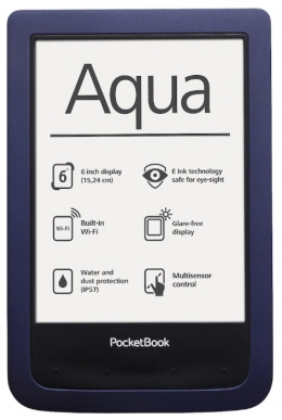 PocketBook Aqua 640 Dark Blue (PB640-B-CIS)