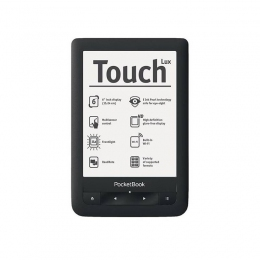 PocketBook Touch Lux 2 626 Black 6""