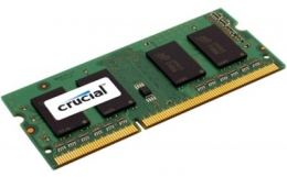 2048MB PC-12800 DDR3-1600 Crucial CT25664BF160B (SODIMM)